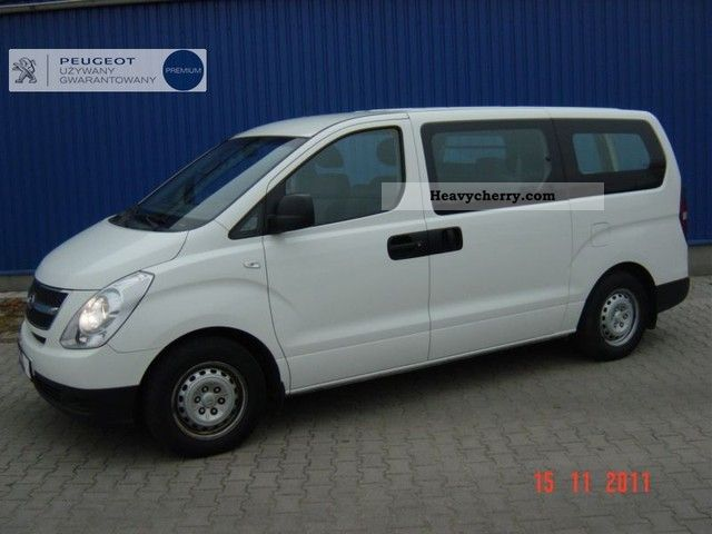 2008 Hyundai  H-1 CRDi Classic Van or truck up to 7.5t Box-type delivery van photo