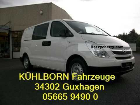 2011 Hyundai  Cargo 6-seater H1 2.5 CRDi Van or truck up to 7.5t Other vans/trucks up to 7,5t photo