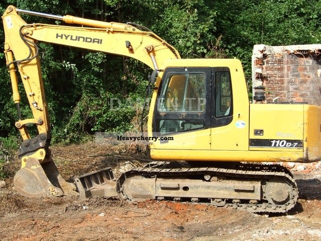 2005 Hyundai  110D-7 Construction machine Mini/Kompact-digger photo