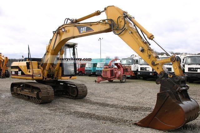 1998 Hyundai  315 BL excavator Construction machine Caterpillar digger photo