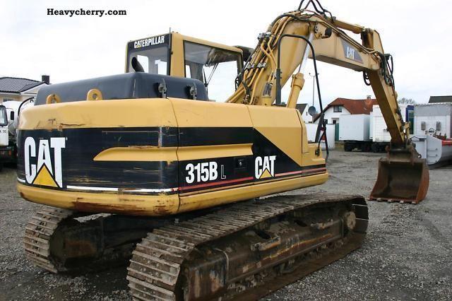 Hyundai 315 Bl Excavator 1998 Caterpillar Digger