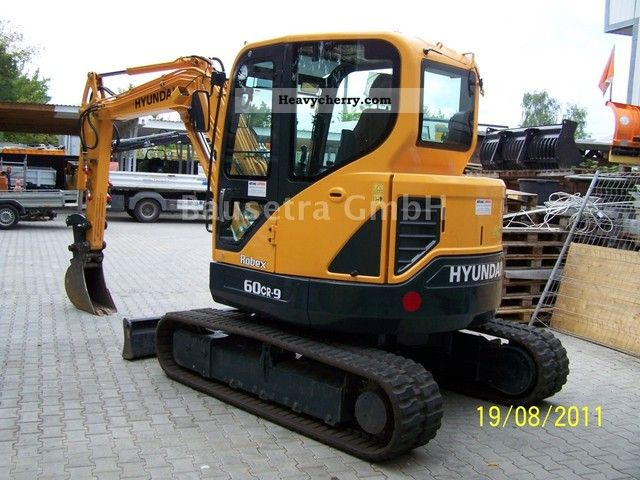 2011 Hyundai  60 CR-9 Construction machine Mini/Kompact-digger photo