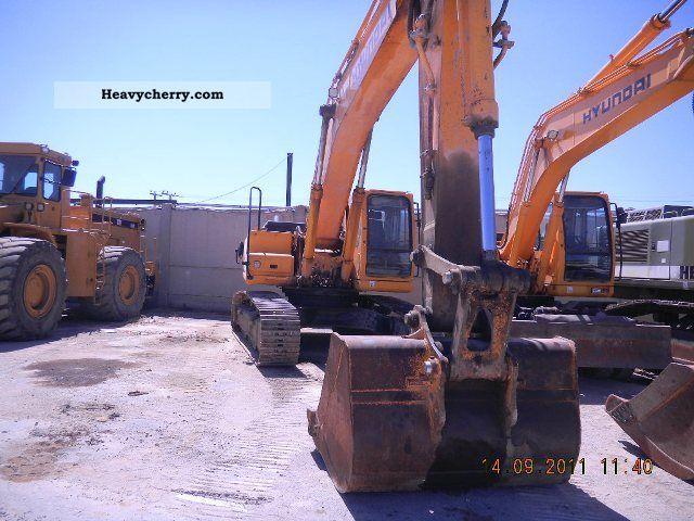 Hyundai 320NLC 2006 Caterpillar digger Construction Equipment Photo ...