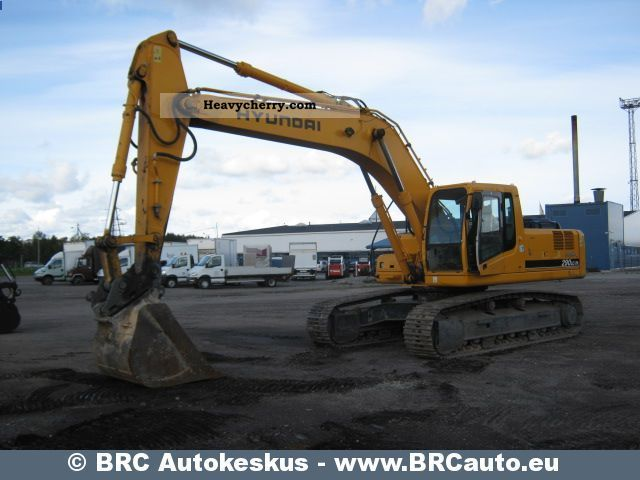 2007 Hyundai  7A Robex 290LC Construction machine Caterpillar digger photo