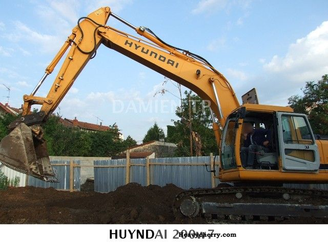 2008 Hyundai  210NLC-7 Construction machine Mobile digger photo