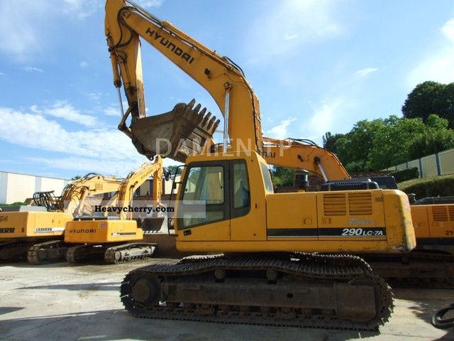 2008 Hyundai  290LC-7 Construction machine Mobile digger photo