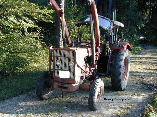1966 IHC  523 Agricultural vehicle Front-end loader photo