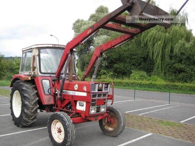 1975 IHC  644 with soft top and TUV FL Agricultural vehicle Tractor photo