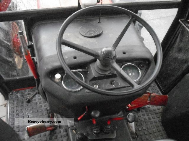IHC 1246 PTO 540/1000 turbo, all wheel 1978 Agricultural