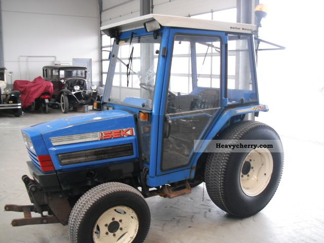 Iseki Tractor Tires : Iseki fronthydr front pto st
