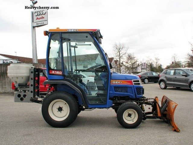 Iseki Tractor Tires : Iseki tm a agricultural tractor photo and specs