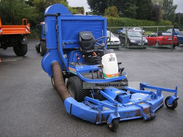 Iseki Sf 333 2011 Agricultural Reaper Photo And Specs