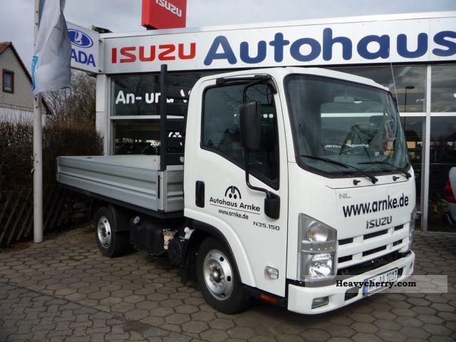 Isuzu N series: 3 5 t truck 2011 Stake body Truck Photo and