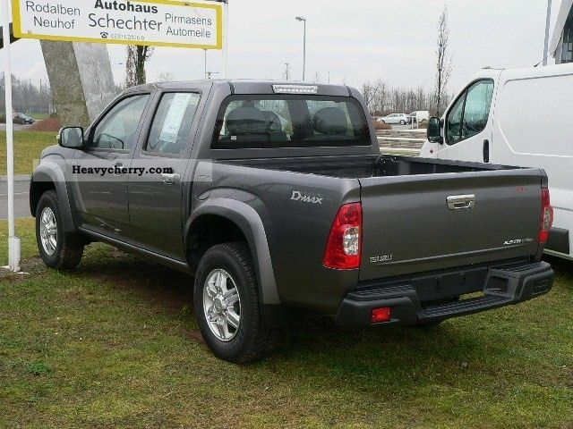 isuzu d max double cab 4x4 custom 2011 stake body truck. Black Bedroom Furniture Sets. Home Design Ideas