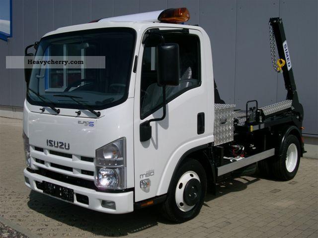 2011 Isuzu  M 50 EVOLUTION + loader Van or truck up to 7.5t Dumper truck photo