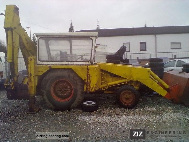 1980 JCB  3c2 Construction machine Construction Equipment photo