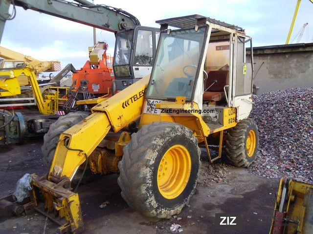 1989 JCB  525B-4 Construction machine Wheeled loader photo