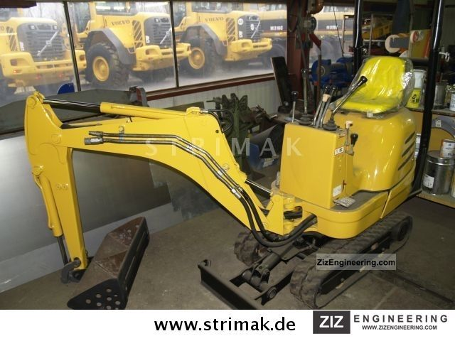 2003 JCB  8008 Micro Construction machine Mini/Kompact-digger photo