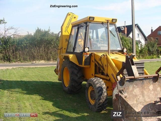 2011 JCB  3 CX TURBO Construction machine Construction Equipment photo