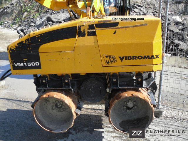 2007 JCB  Grave roll, remote control, 1.5 t. Construction machine Compaction technology photo