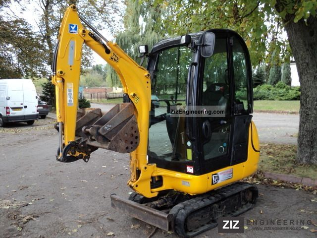 2007 JCB  8016 8014 8018 2007 ROK Construction machine Mini/Kompact-digger photo