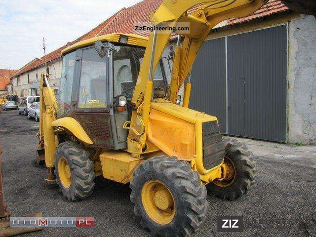 1997 JCB  2CX STRETMASTER Construction machine Construction Equipment photo