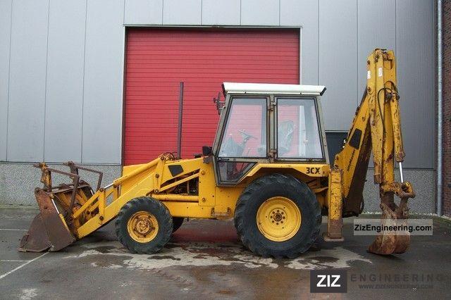 1991 JCB  3CX Construction machine Combined Dredger Loader photo
