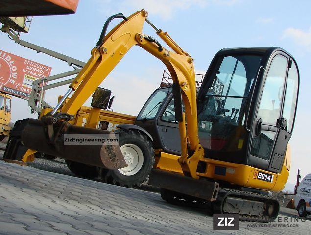 2008 JCB  8014 Construction machine Mini/Kompact-digger photo
