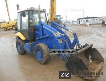 2004 JCB  2CX Construction machine Wheeled loader photo