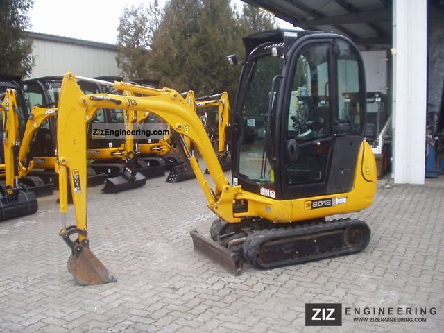 2007 JCB  8018 Construction machine Mini/Kompact-digger photo