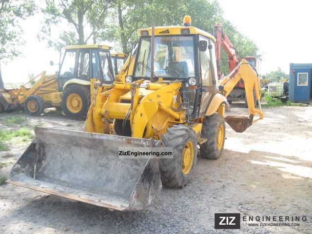 1999 JCB  2CX Construction machine Mobile digger photo