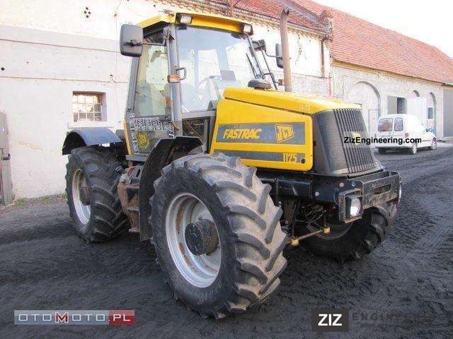 1998 JCB  FASTRAC 1125 Agricultural vehicle Tractor photo