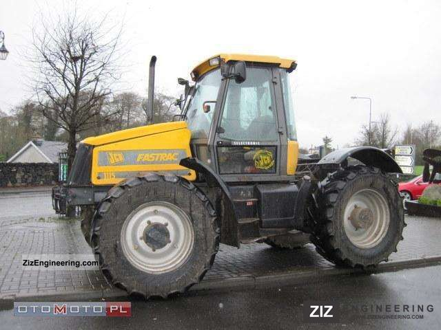 1996 JCB  FASTRAC 1115 Agricultural vehicle Tractor photo