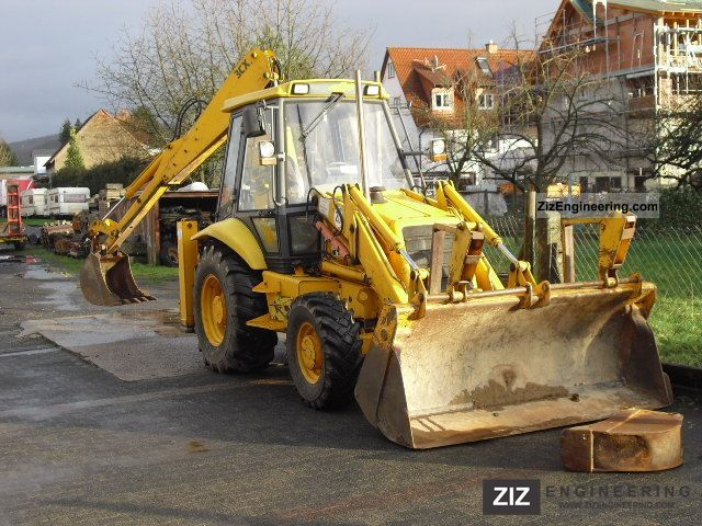 1992 JCB  3cx 4 Construction machine Combined Dredger Loader photo