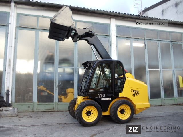 2007 JCB  Robot 170 Skid Steer \ Construction machine Wheeled loader photo