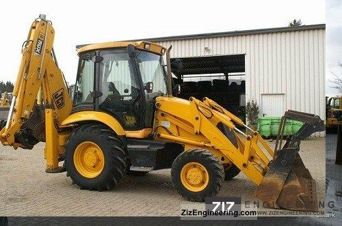 2005 JCB  3 CX 4 Construction machine Mobile digger photo