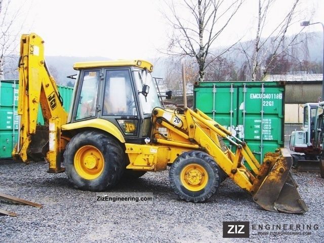 1994 JCB  3-4x4-wheel drive CX-telescope Construction machine Combined Dredger Loader photo
