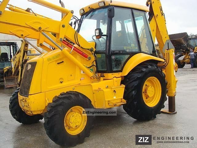 2000 JCB  3cx Construction machine Wheeled loader photo