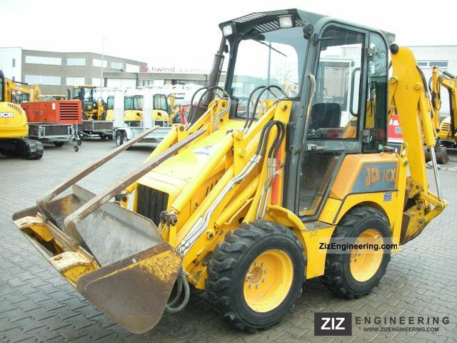 2000 JCB  1CX cabin with full / full cab Construction machine Combined Dredger Loader photo