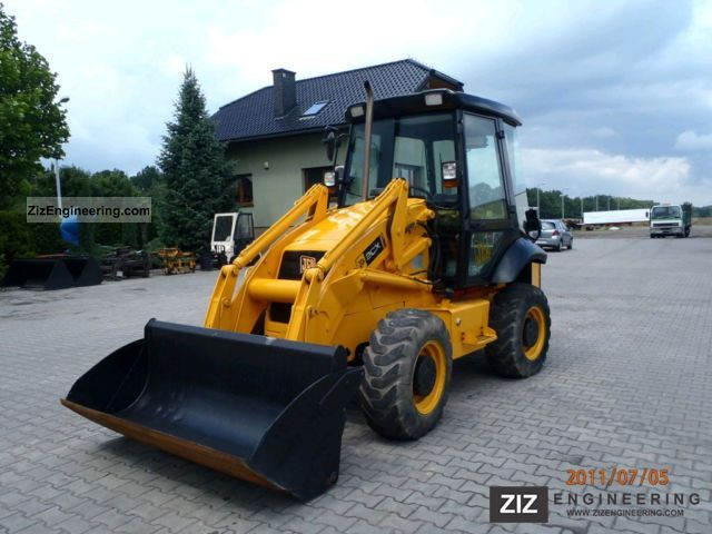 2007 JCB  2CX AIRMASTER Construction machine Wheeled loader photo