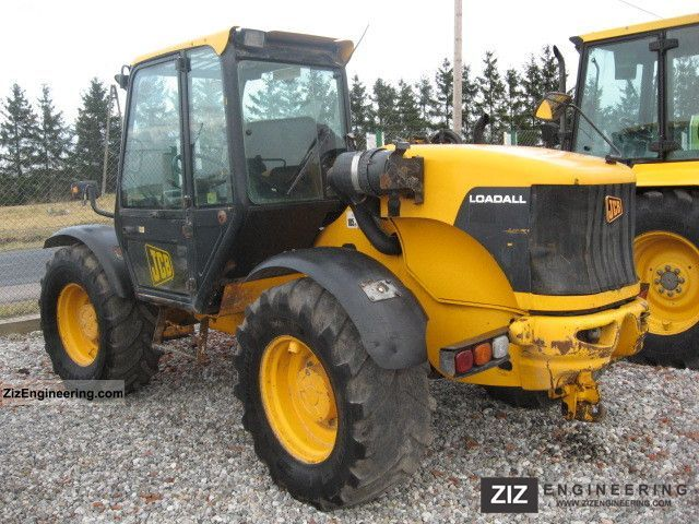 2003 JCB  528 Construction machine Wheeled loader photo
