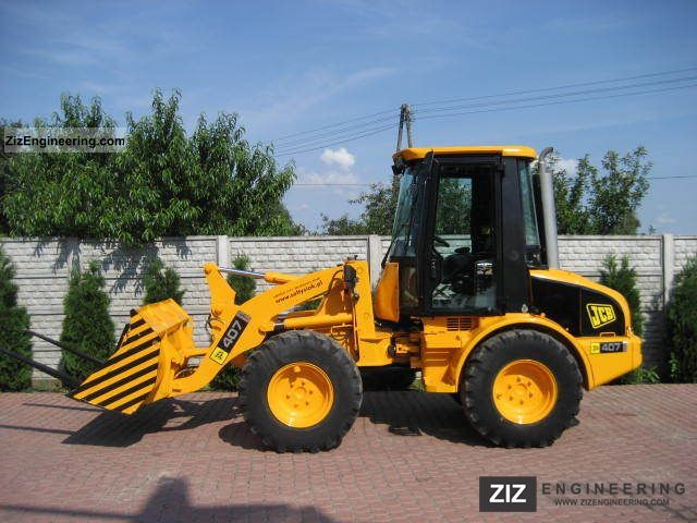 1999 JCB  407B Construction machine Wheeled loader photo