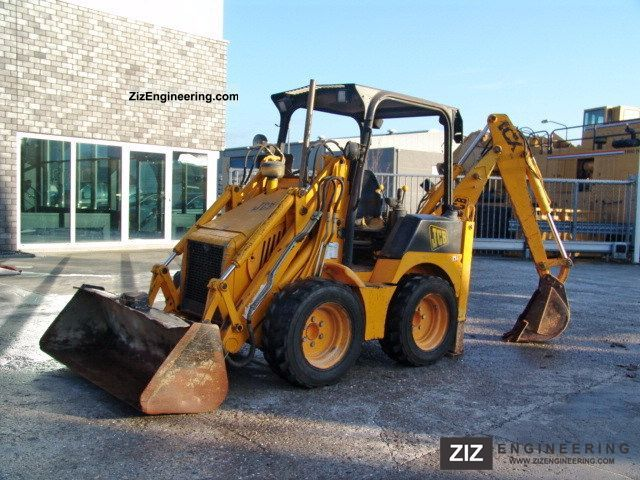 2002 JCB  1CX Construction machine Mobile digger photo