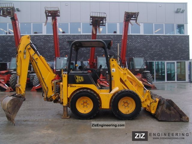 2003 JCB  1CX Construction machine Mobile digger photo