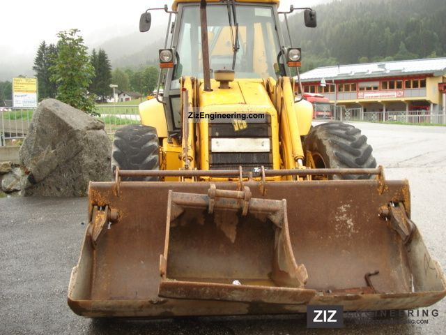 1993 JCB  4 CX Sitemaster Turbo Plus Construction machine Combined Dredger Loader photo