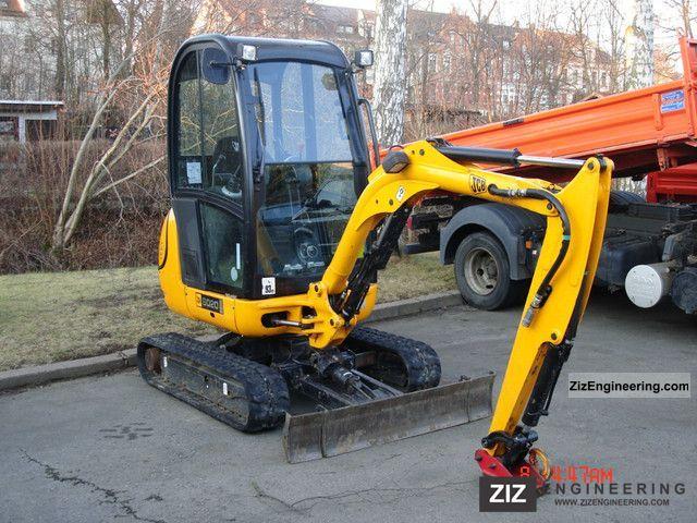 2009 JCB  8020 Construction machine Mini/Kompact-digger photo