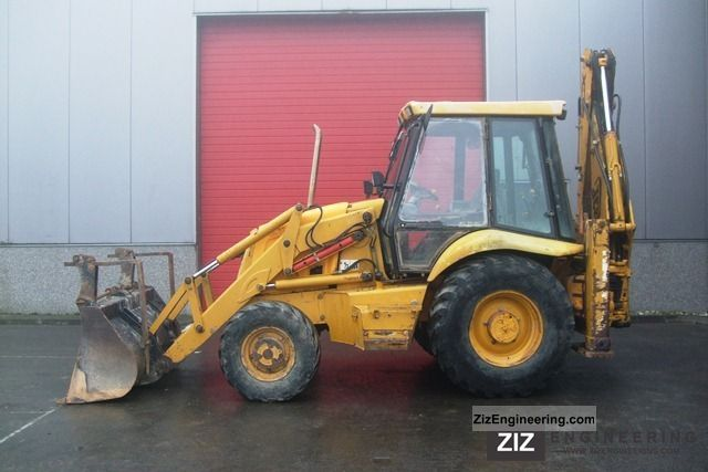 1997 JCB  3CX Turbo Construction machine Combined Dredger Loader photo