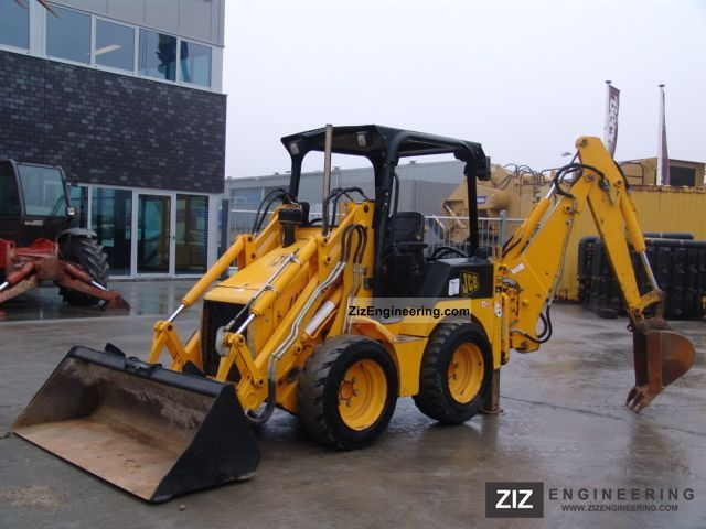 2004 JCB  1CX Construction machine Mobile digger photo
