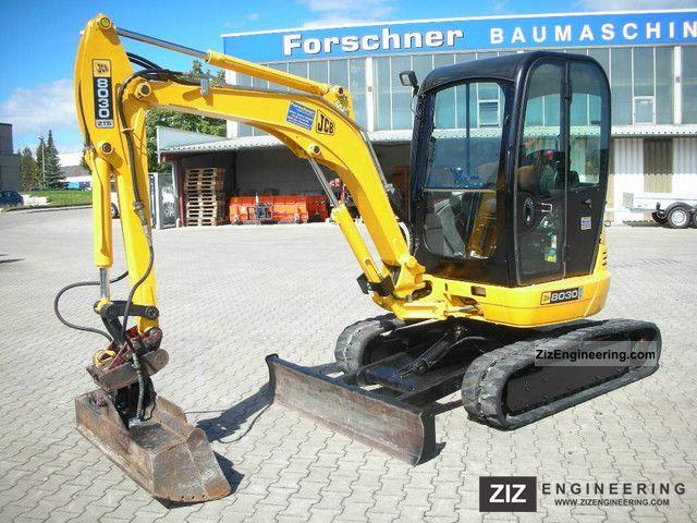 2007 JCB  8030 ZTS Construction machine Mini/Kompact-digger photo