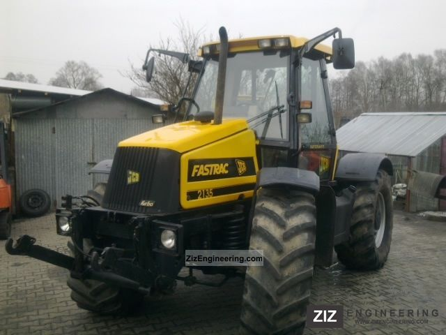 1999 JCB  FASTRAC 2150 Agricultural vehicle Tractor photo